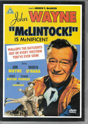 McLintock! Is McNificent DVD (2008) John Wayne