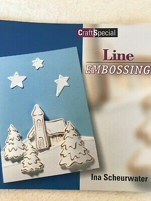 Line Embossing By Ina Scheurwater