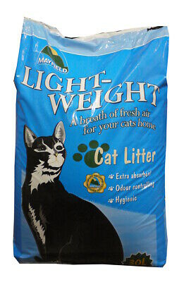 Mayfield Light Weight Cat Litter 30ltr Cat Litter Damaged 21.9 KG