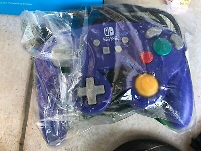 PowerA Wired Controller for Nintendo Switch - GameCube Style: Purple No Box