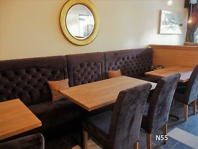 Fixed bench/booth seating for restaurants/clubs/bars/cafe's buttoned