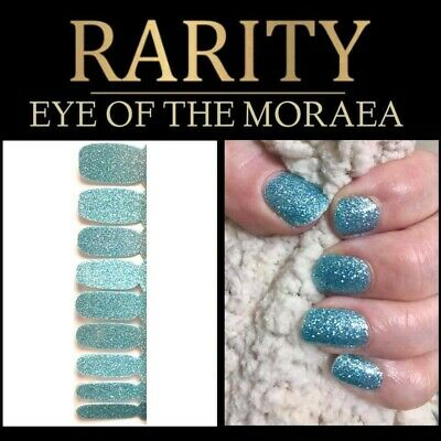 Rarity nail polish strips No more Color Street Eye of the Moraea