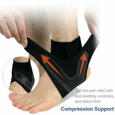 Adjustable Ankle Support Brace Foot Sprains Injury Pain Wrap Strap Protector 1PC