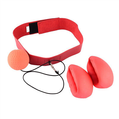 Cn_ Boxing Punch Exercise Fight Ball With Head Band For Reflex Speed Training