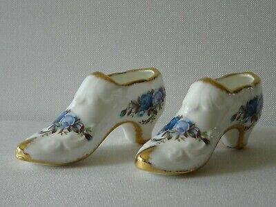 Royal Albert Moonlight Rose 2 Shoes Bone China England