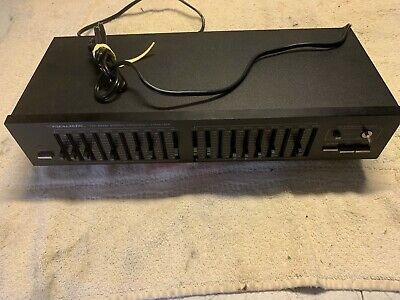 Realistic 31-2018A Ten Band Stereo Frequency Equalizer