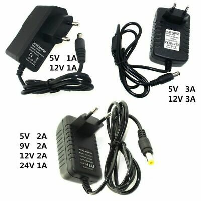 220V Power Adapter DC 5V 9V 12V 24V 1A 2A 3A Charger Supply Universal Switching