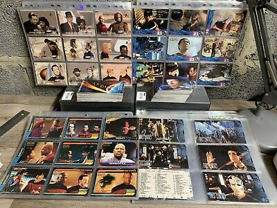 800 X Star Trek Trading Cards: Next Gen, Voyager Deep Space 9 First Contact