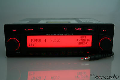 Becker Indianapolis BE7922 MP3 GPS Navigationssystem AUX IN RDS 7922 Autoradio