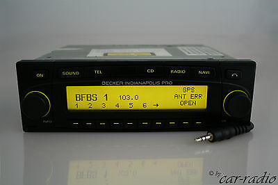 Becker Indianapolis PRO BE7953 MP3 Navigationssystem AUX-IN RDS Bluetooth GPS