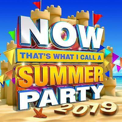 Various Artists - Now Summer Party 2019 - New 2CD Album - Released 28/06/2019