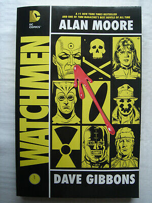 Alan Moore and Dave Gibbons - Watchmen, International Edition, DC Comics