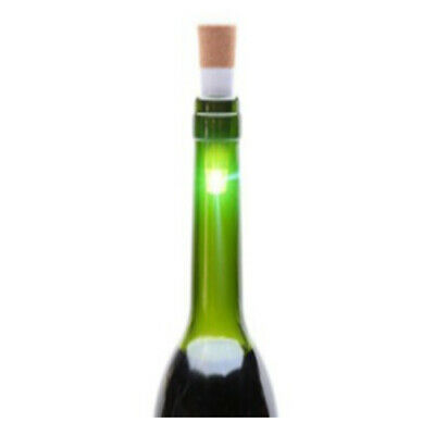 Cork Shaped USB Rechargeable LED Night Light Super Bright Empty Wine Bottle R2R2