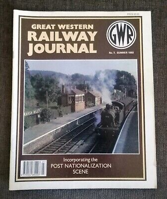 Great Western Railway Journal No.7 Summer 1993. Preowned in Good Condition