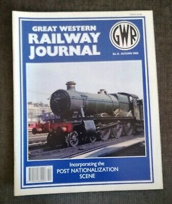 Great Western Railway Journal No.8 Autumn 1993. Preowned in Good Condition