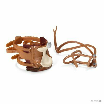 Schleich 42122 Western Saddle and Bridle Tack Set for  Horse Toy Figurines - NIP