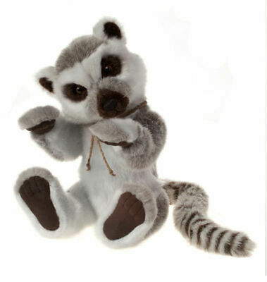 SPECIAL OFFER! 2014 Charlie Bears BANDIT Lemur (New Stock) RRP £50