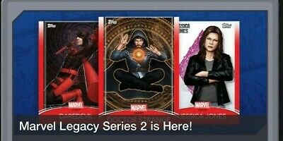Topps Marvel Collect Card Trader Marvel Legacy Series 2 - Set of 10  Award Ready