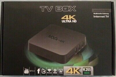 MXQ PRO 4K Ultra HD Android HEVC H.265 Android