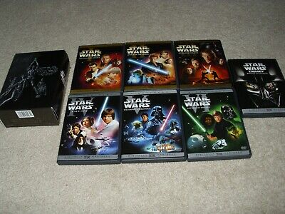 Star Wars The Complete Saga DVD Set Episodes 1-6 + Bonus Material. Like New Free