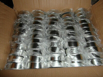 60X PRESSITIN 100ML ring pull self seal tuna tins with black lids and RX  labels