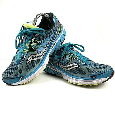 92eed9d5 WOMENS SAUCONY POWER Grid Omni 14 Blue Running Shoes Size 8.5 Wide