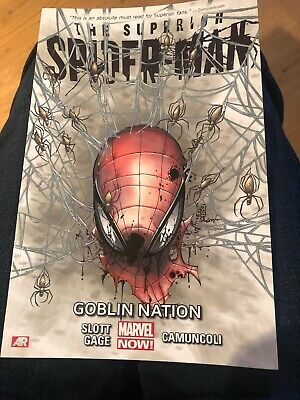Superior Spider-man Vol.6: Goblin Nation by Dan Slott 9781846536021 | Brand New
