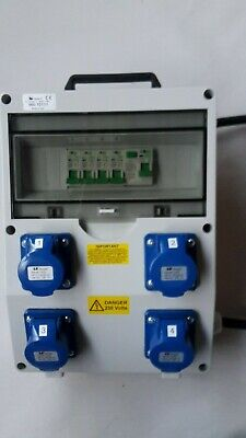 63Amp Distribution board,power box, Hook Up, stage, event distro, 240V splitter