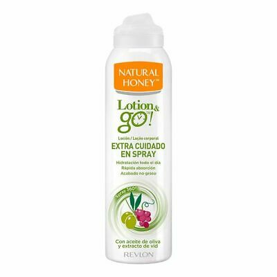 Loción Corporal Extra Nutritiva Lotion & Go! Natural Honey (200 ml)