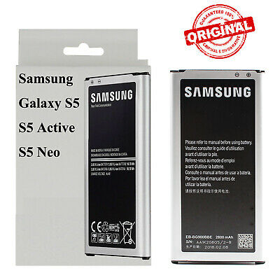 Original Samsung S5 Galaxy S5 Active Neo Smartphone Cell Phone Battery 2800mAh