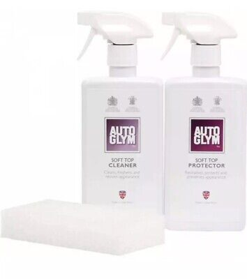 Autoglym Convertible Cabriolet Hood Cleaner KIT (Soft Top Fabric Roof GENUINE)