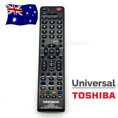 New Universal Toshiba TV Remote Control Replacements OZ