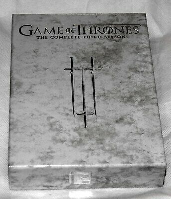 Game of Thrones DVD.The Complete Third Season Series 3