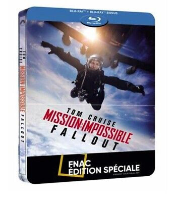 MISSION IMPOSSIBLE FALLOUT - Steelbook Blu Ray - Ed FNAC NEUF SOUS BLISTER