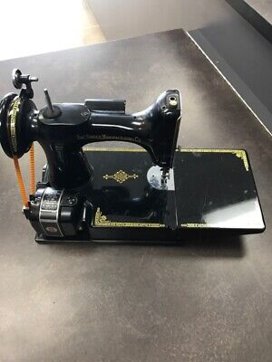 Singer Sewing Machine 3-120 221 Featherweight Limited Century Edition 1851-1951