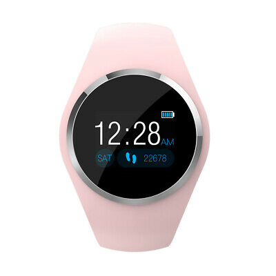 Mujer Reloj inteligente Smartwatch Impermeable Deporte Fitness para IOS Android