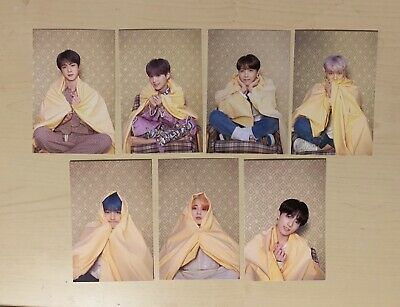 BTS MAP OF THE SOUL PERSONA OFFICIAL PHOTOCARD Postcard Jungkook RM V Jimin Suga