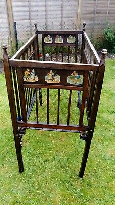 Childs Vintage Cot for restore please read
