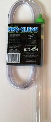 "Python Pro Clean Aquarium Siphon Gravel Washer Small  1"" x 12""  With 6 Foot Hose"
