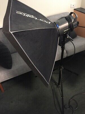 Elinchrom D-Lite 4it Portable Studio Lights X2, EC, With Stands Melb Vic