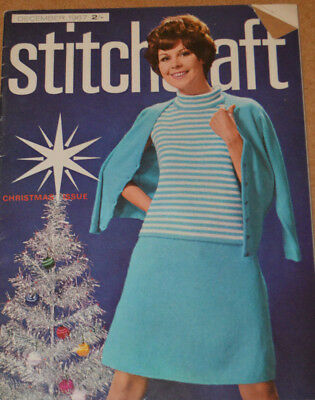 Knitting patterns Winter Stitchcraft vintage 1967 jumpers gifts