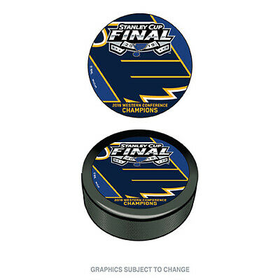 2019 Stanley Cup Western Conference Champion Hockey Puck St. Louis Blues