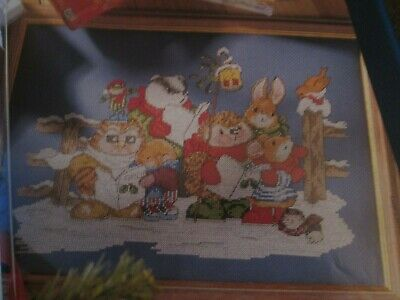 'We Wish You A Merry Christmas' Country Companions Cross Stitch Chart Only