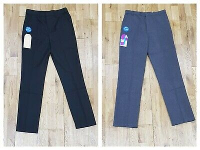 BOYS KIDS BACK TO SCHOOL QUALITY UNIFORM TROUSERS PANTS- AGES FROM 4 to 17 YEARS