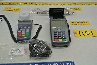 First Data Verifone Pin Pad #1000SE & FD55 Credit Card Processing  Free Ship