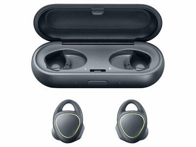 Samsung Gear IconX In-Ear Bluetooth Wireless Headphones-Black-Excellent