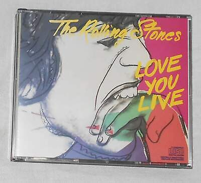 THE ROLLING STONES: Love you Live, Rolling Stones Record