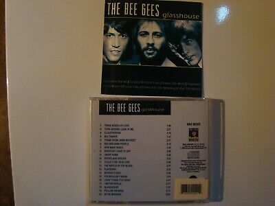 RARE!!! THE BEE GEES Glasshouse CD 2005 Made in Holland