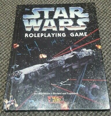 Star Wars - The Roleplaying Game - West End Games 40120 RPG HC Second Edition