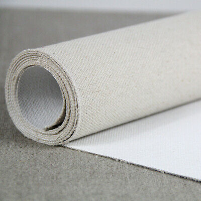 BLANK CANVAS ROLL Oil Painting Linen 5m 480g Primed High